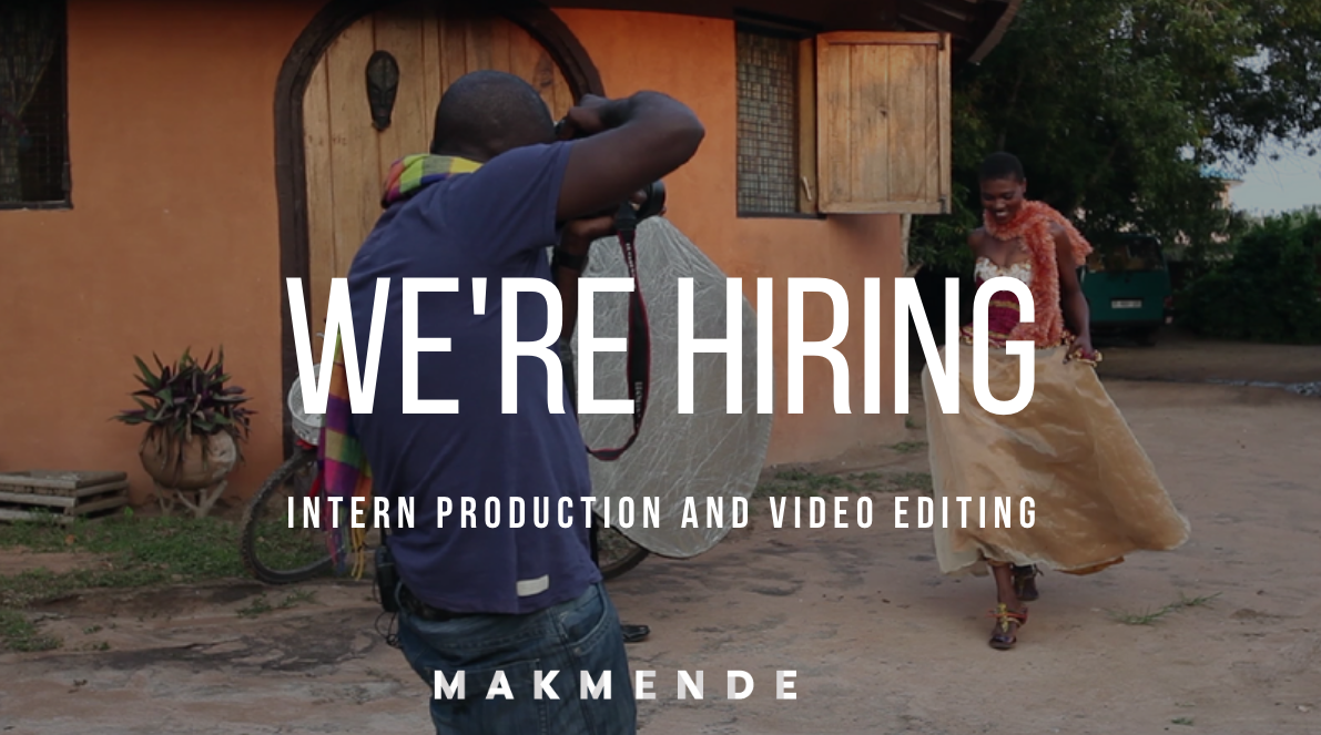 intern production and video editing