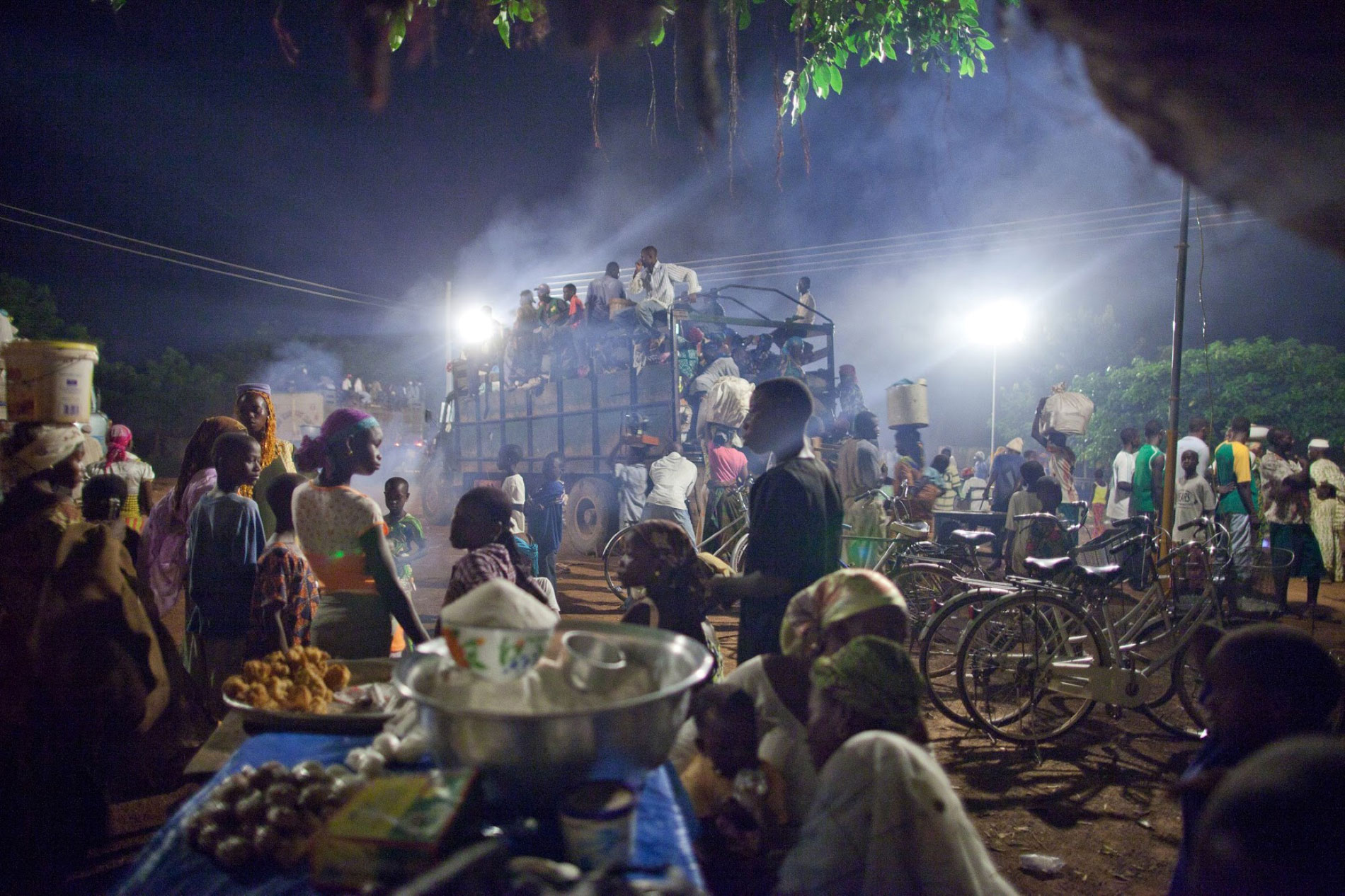 African village with lights | Makmende media